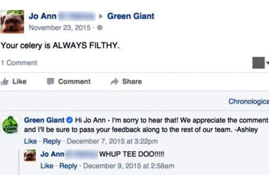 Jo Ann Green Giant
