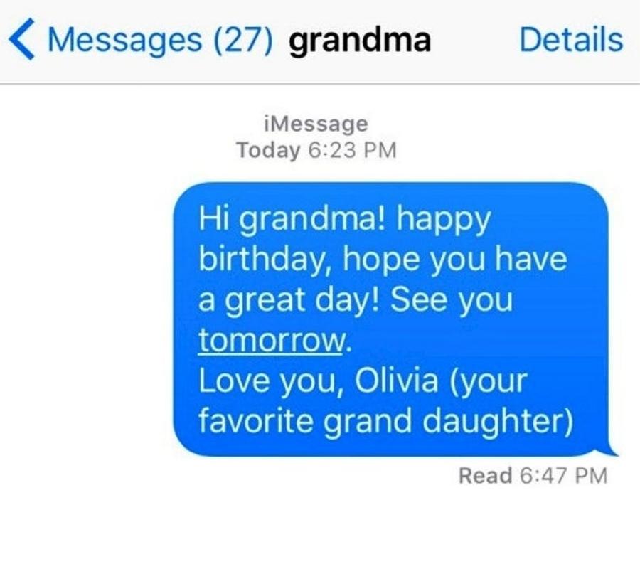 grandma hi grandma