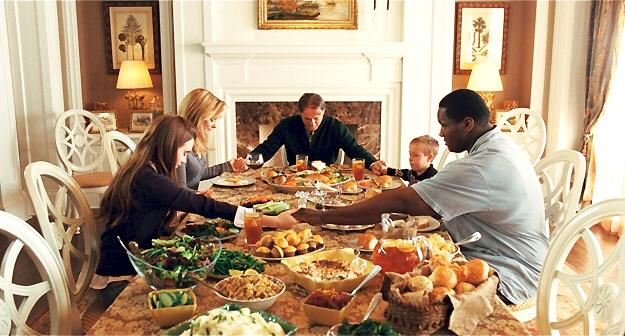 Michae Oher Family Dinner.jpg